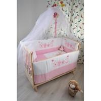 Bebekonfor Elyesa Beşik Sweet Pink Arılı Set
