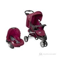 Crystal Baby CB-208 Sport Seyahat Sistem Joger Bebek Arabası / Bordo