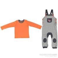 Baby&Kids Salopet Takım - Gri