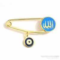eJOYA Bebek Nazar Allah İğnesi / Mavi
