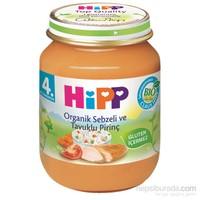 Hipp Organik Sebzeli ve Tavuklu Pirinç 125 gr