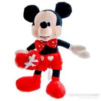 Ottonya Disney Mickey Valentine Çikolata Kutulu Peluş
