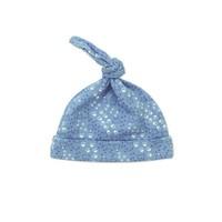 Baby Corner Pati Desenli Kukuleta Şapka İndigo