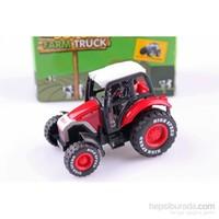 Nani Toys Çiftlik Traktörü Çek Bırak Diecast Model Araç