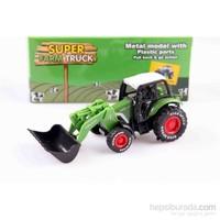 Nani Toys Çiftlik İş Traktörü Çek Bırak Diecast Model Araç