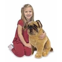 Melissa & Doug Dev Peluş Köpek Pug