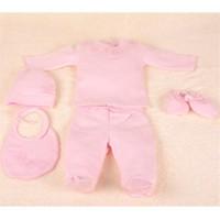 Aybi Baby Lacy Pink Hastane Çıkış Seti