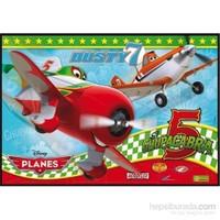Clementoni Planes - 104 Parça Maxi Çocuk Puzzle