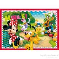 Clementoni I Love Minnie Mouse 2 104 Parça Çocuk Yapboz