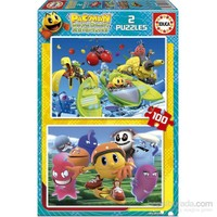 Educa Pac - Man - 2 X 100 Parça Puzzle