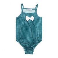 Modakids Bambaki Kız Bebek Askılı Fiyonklu Çıtçıtlı Body 013-00045-017
