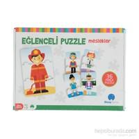 Eğlenceli Puzzle-Meslekler