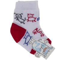Olay Sevimli Köpekli Çorap 1-5 Yaş