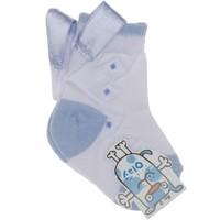 Olay Baklava Desenli Çorap 0-5 Yaş
