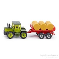 Siku MB-Trac with trailer for bales