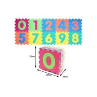 Sun Ta Toys Eva Numaralar 10 Parça Puzzle Oyun Matı