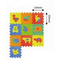 Sun Ta Toys Eva Hayvanlar 10 Parça Puzzle Oyun Matı