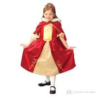 Prenses Belle Çocuk Kostüm Platinium 5-6 Yaş