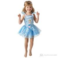 Prenses Cinderella Balerin Çocuk Kostüm 2-3 Yaş