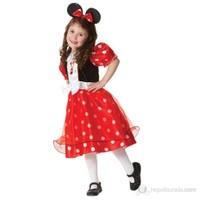 Minnie Lüks Çocuk Kostüm Small 3-4 Yaş