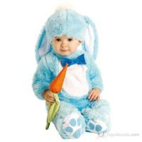 Mavi Tavşan Bebek Kostümü 12-18 Ay