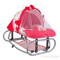 Convers Sallanır Anadizi Bebek Beşiği - Kırmızı
