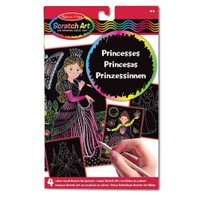 Melissa & Doug Kazıma Sanatı Renkleri Ortaya Çıkar Prensesler