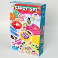 Oyun Hamuru Set Pasta Yapımı 3 Hamurlu Kçk.