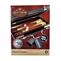 Sunman Sun Mrh Tavla Ahşap Çantada Deluxe Backgammon