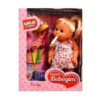Engin Oyuncak Aksesuarlı Doğum Günü Bebeği