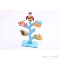 Nani Toys Ahşap Hayat Ağacı Mandallı Notluk