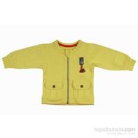 Bebepan 8103 Tamtam Penye Bebek Hırkası Sarı 6-9 Ay (68-74 Cm)