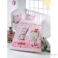 Victoria Pink Dream Ranforce Bebek Nevresim Takımı