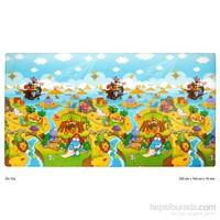 Unigo Dwinguler Dino Adventure Oyun Matı 2300 x 1400 x 15 mm