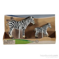 Baby&Toys Zebra Ve Yavrusu