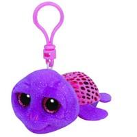 Ty Peluş Oyuncak Slowpoke - Purple Turtle Anahtarlık 12 Cm