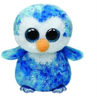 Ty Peluş Oyuncak İce Cube - Blue Penguin Regular 15 Cm