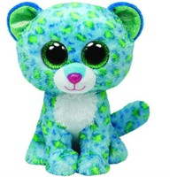 Ty Peluş Oyuncak Leona - Blue Leopard Regular 15 Cm