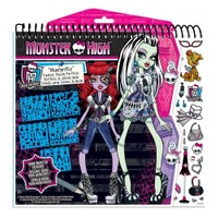 Fashion Angels Monster High Tasarım Portfolyo - Moda Tasarımı