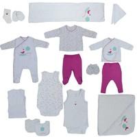 İdil Baby Kız Bebek Hastane Çıkışı 20 Li Set