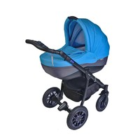 Pajero Alu Bebek Arabası Portbebe Mavi 10M