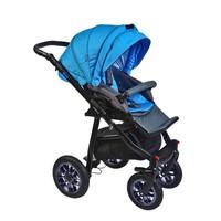 Pajero Alu Bebek Arabası Spor Koltuk Mavi 10M