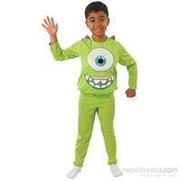 Monster Mike 5-6 Yaş Çocuk Kostümü Lüks