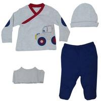 İdil Baby 7863 Erkek Bebek Zıbın Takımı