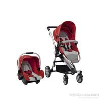 Sunny Baby Ultima Travel Sistem Bebek Arabası Kırmızı
