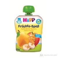 Hipp Organik Muzlu Elmalı Armutlu Meyve Püreli Kavanoz Maması 90 gr