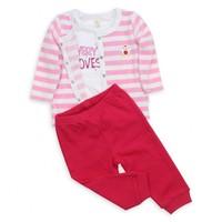 Modakids Wonder Kids Kız Bebek 3'Lü Takım 010-4371-021