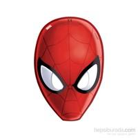 KullanAtMarket Spiderman Savaşçı Kağıt Maske 6 Adet