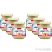 Milupa Organik Kayısı Muz Püreli Kavanoz Maması 125 gr - 6'lı