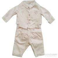 İdil Baby 4589 Bebek Mevlüt Takımı Krem 3-6 Ay (62-68 Cm)